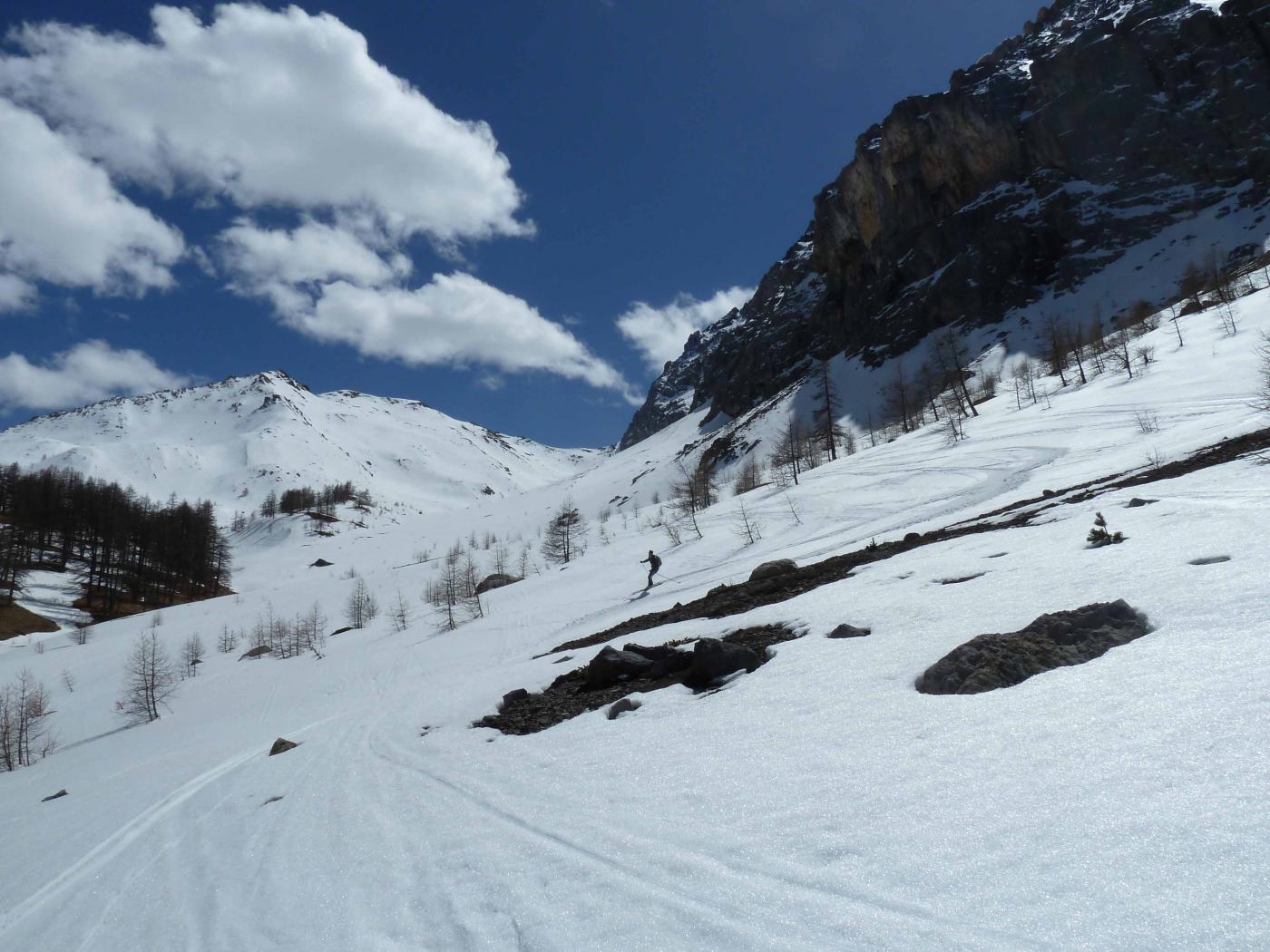 Gran bella neve anche in basso