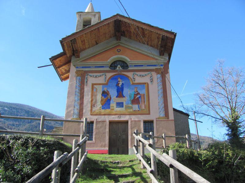 Cappella di La Ravoire alla partenza