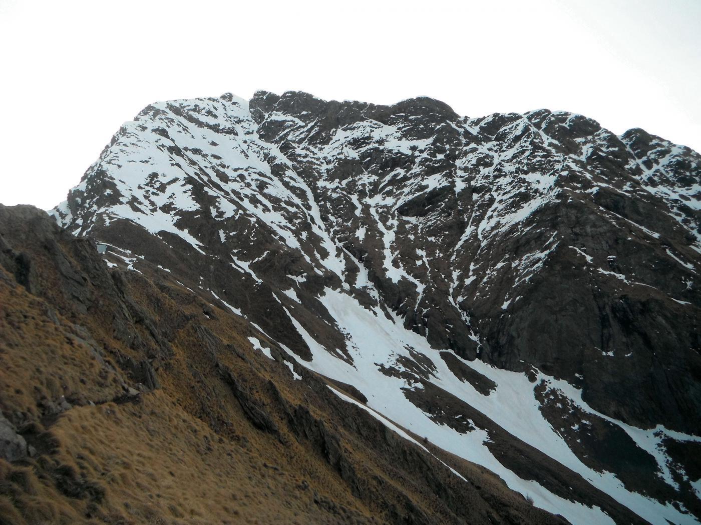 La parete ovest del Legnone