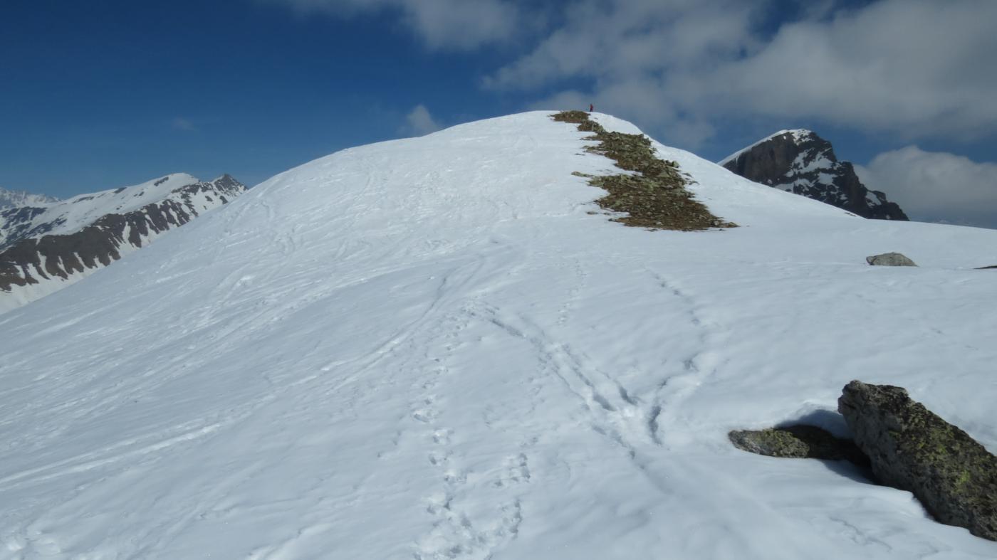 la cima Nord del Ruissas è vicinissima!