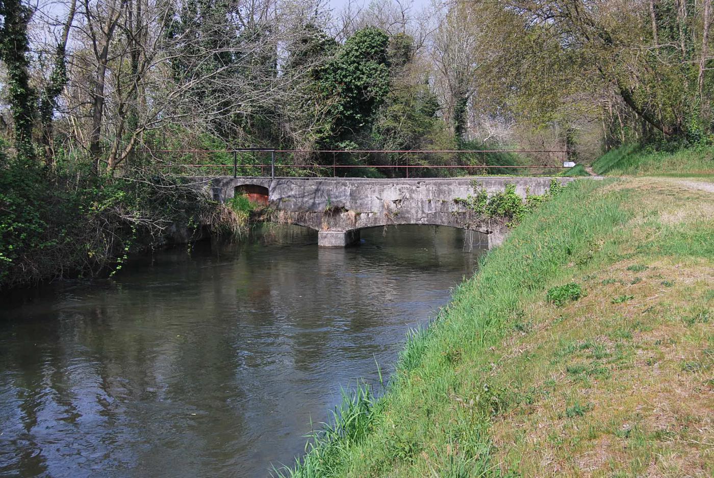 Il ponte sullo Sforzesco a Torre Mandelli