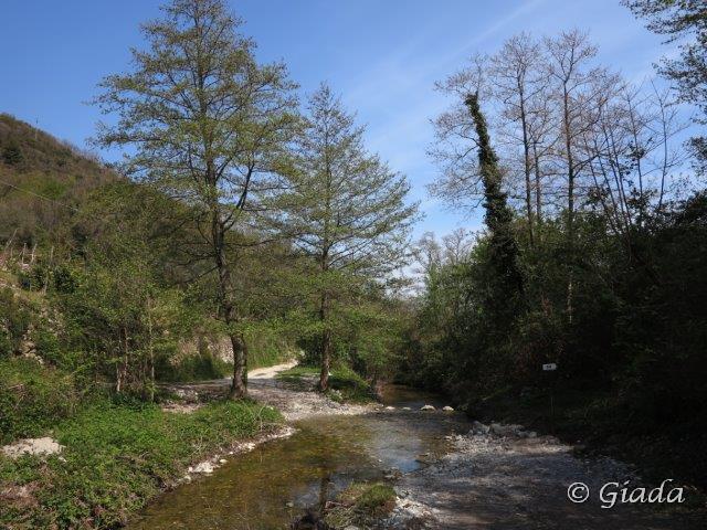 Il guado del Rio del Ponte