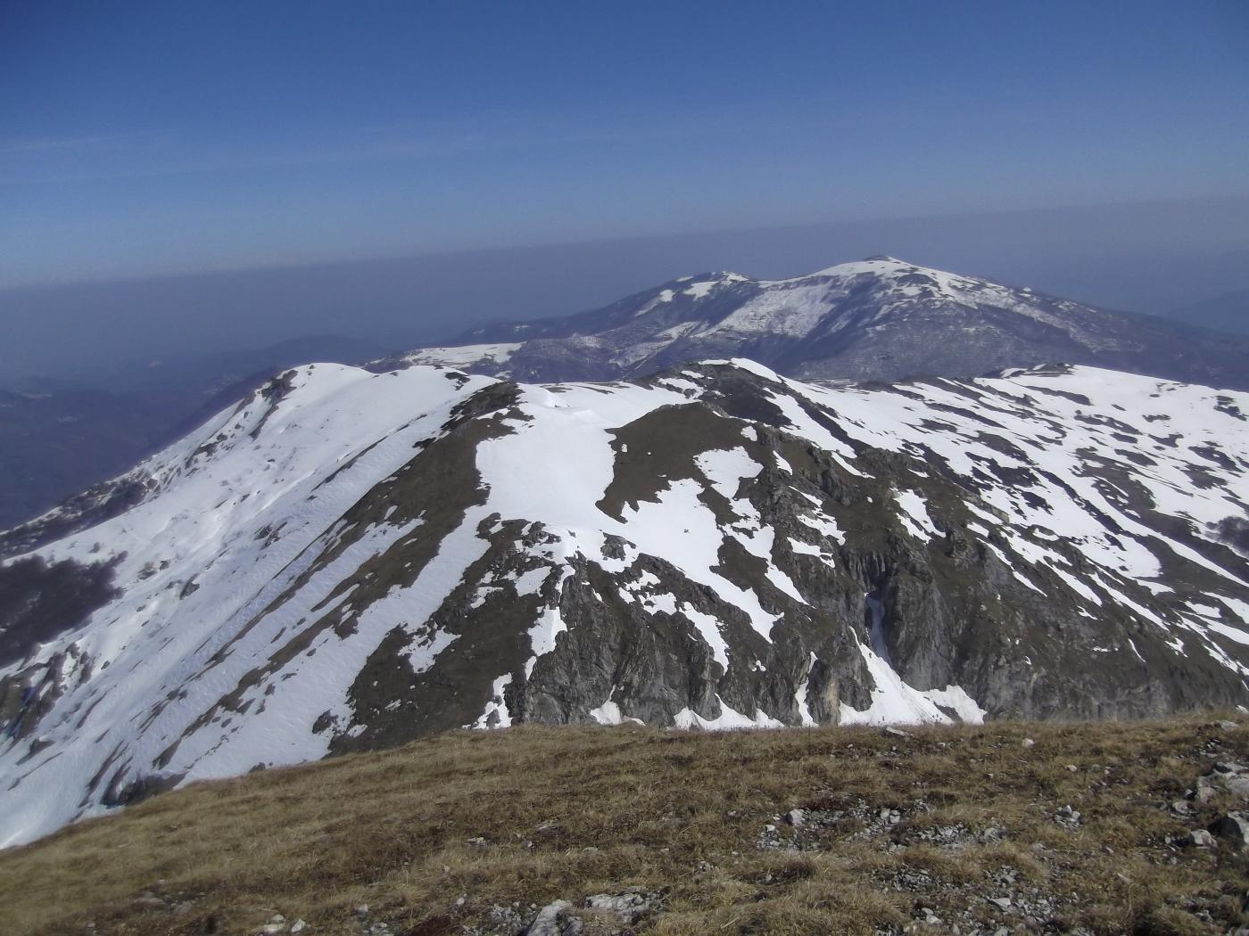 Monte Grosso visto dall'Antoroto