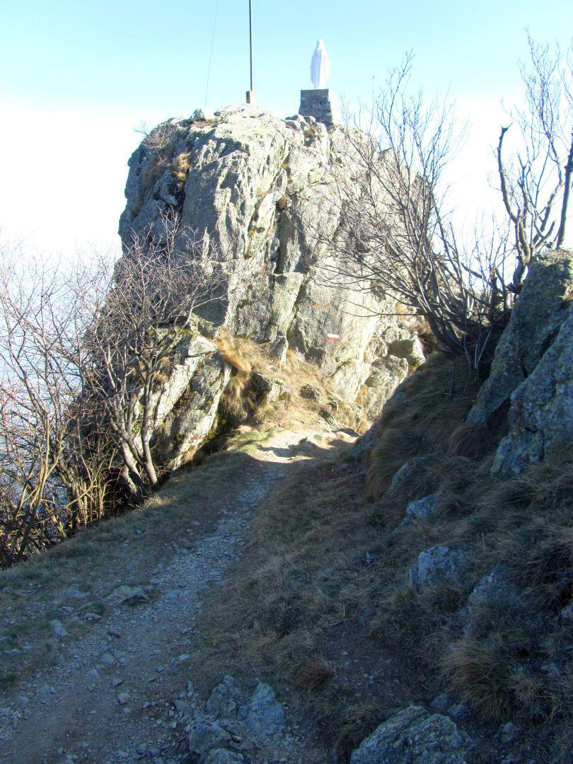 alle spalle della Rocca S.