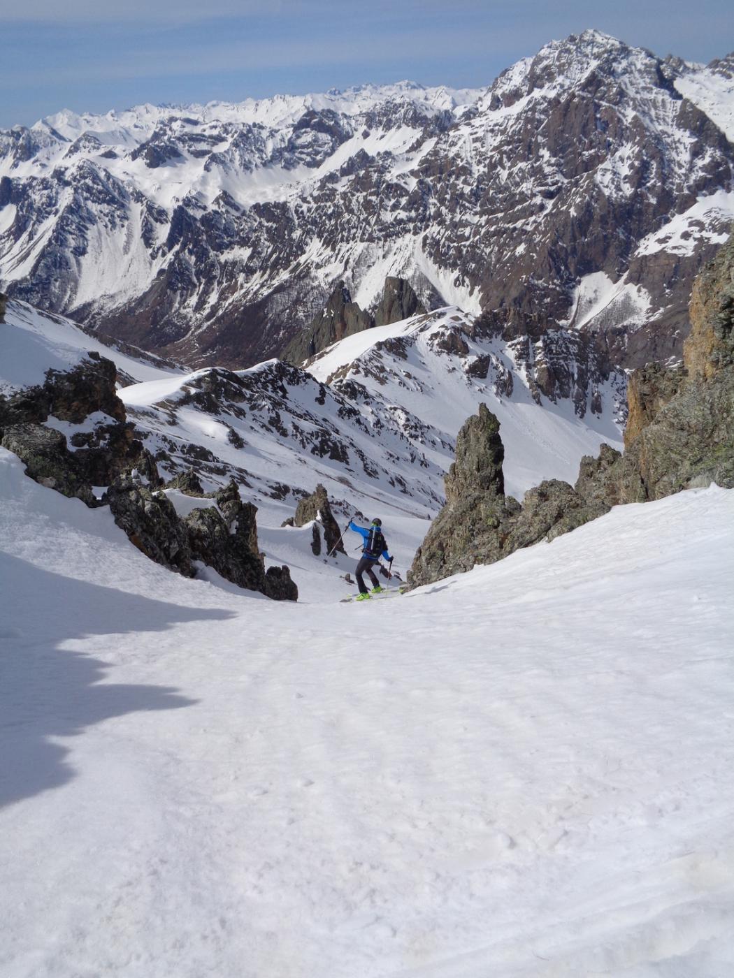 neve al top in alto