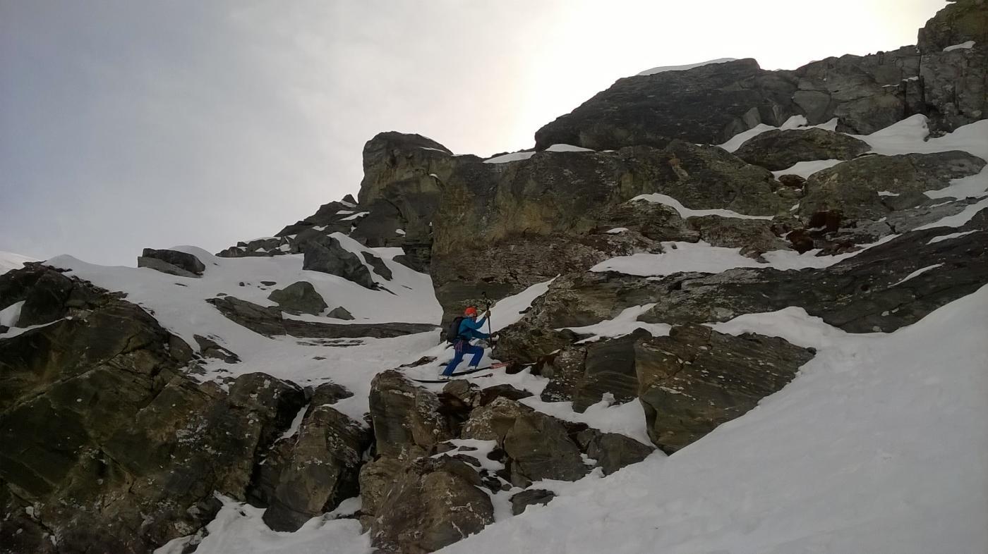 Cengia ascendente_accesso alla parte alta