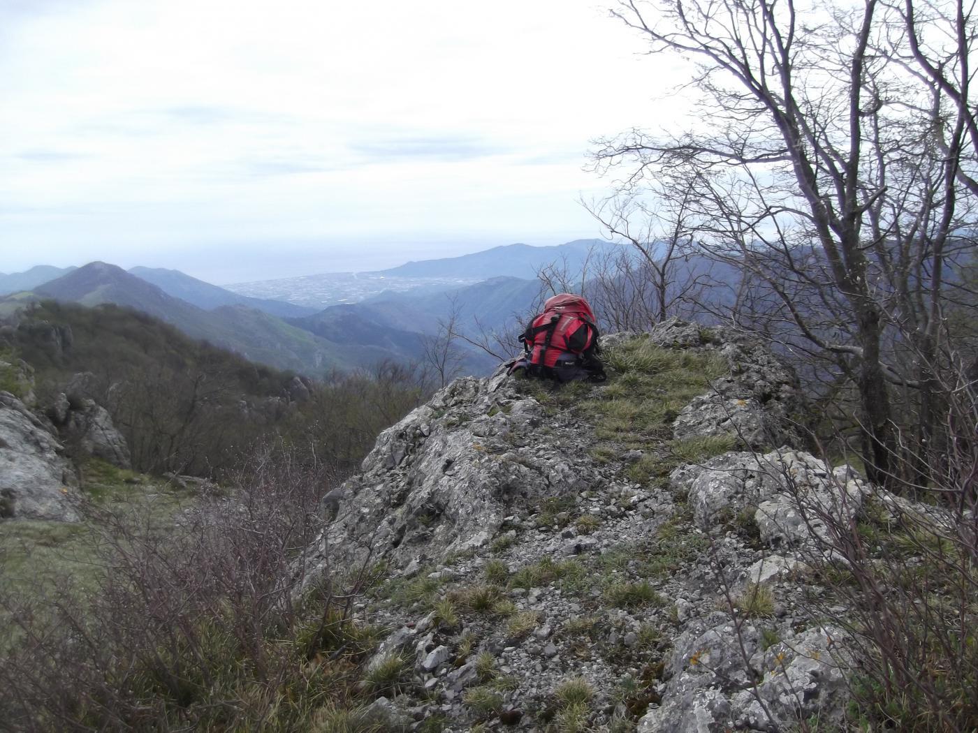 in cima al Monte delle Gettine