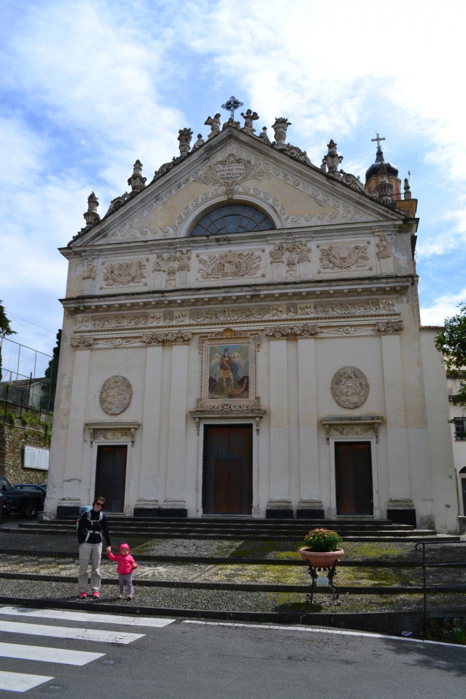 partenza da piazza San Michele