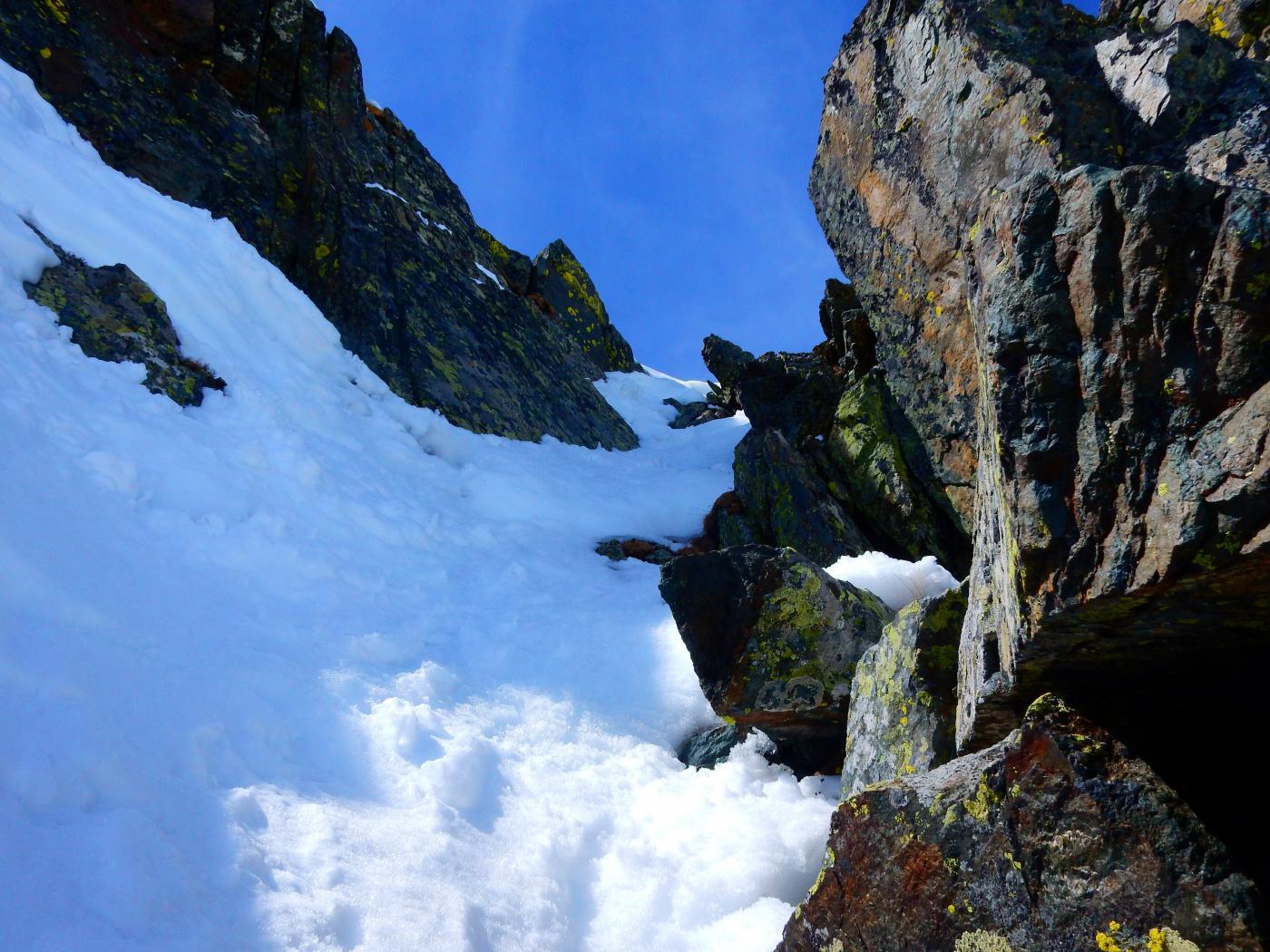 divertente uscita alpinistica in vetta