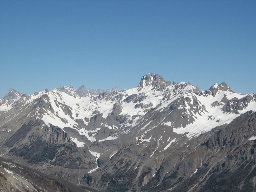 Splendido Oronaye dalla cima