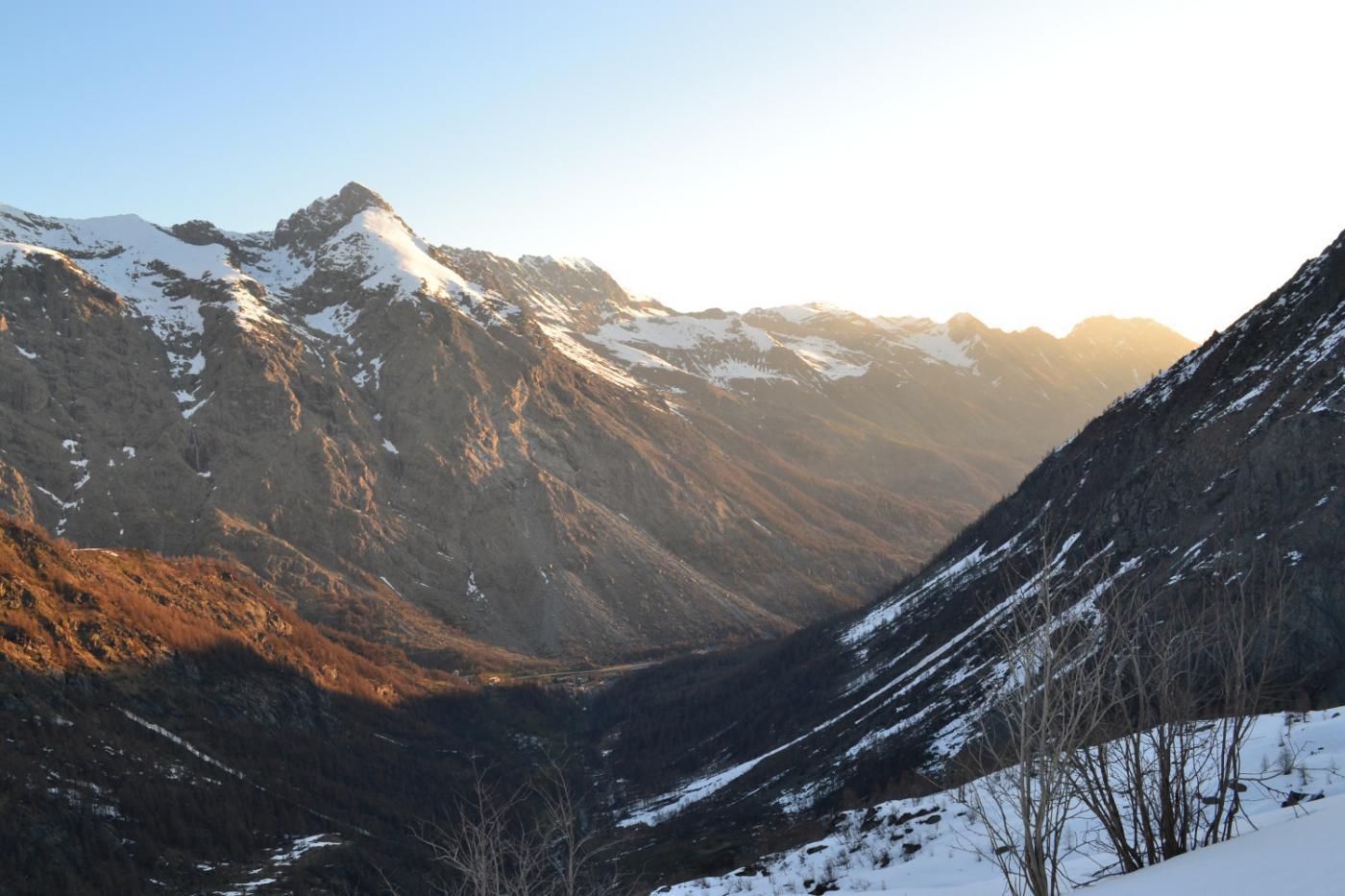 vista verso valle salendo