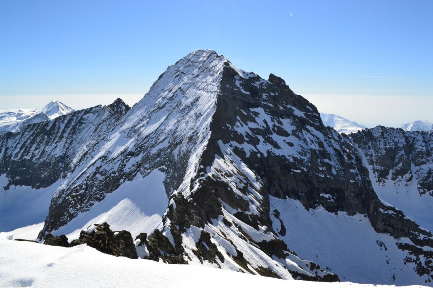 vista spettacolare sul Monte Servin