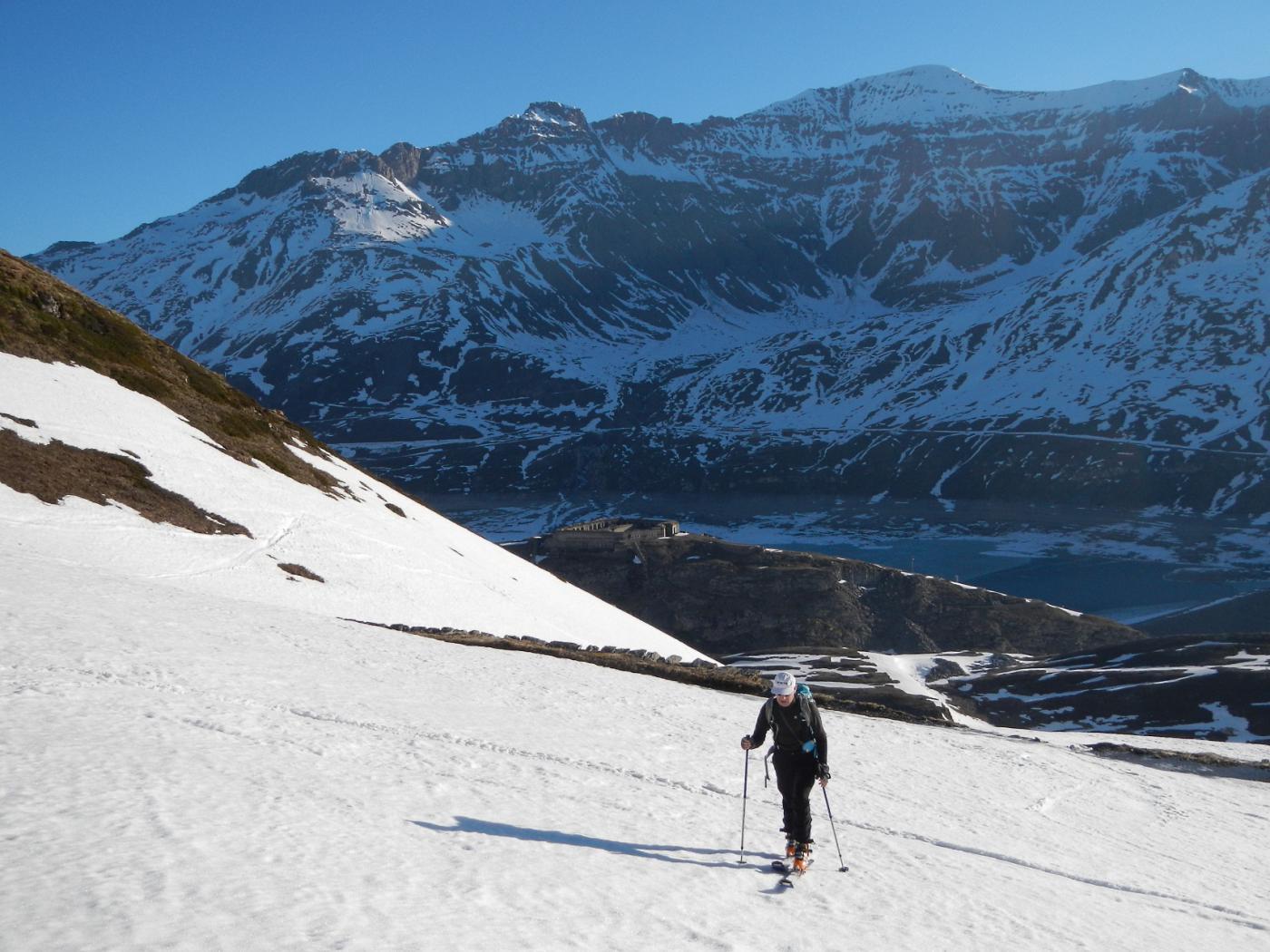 Lago del Moncenisio e la Pointe de Ronce