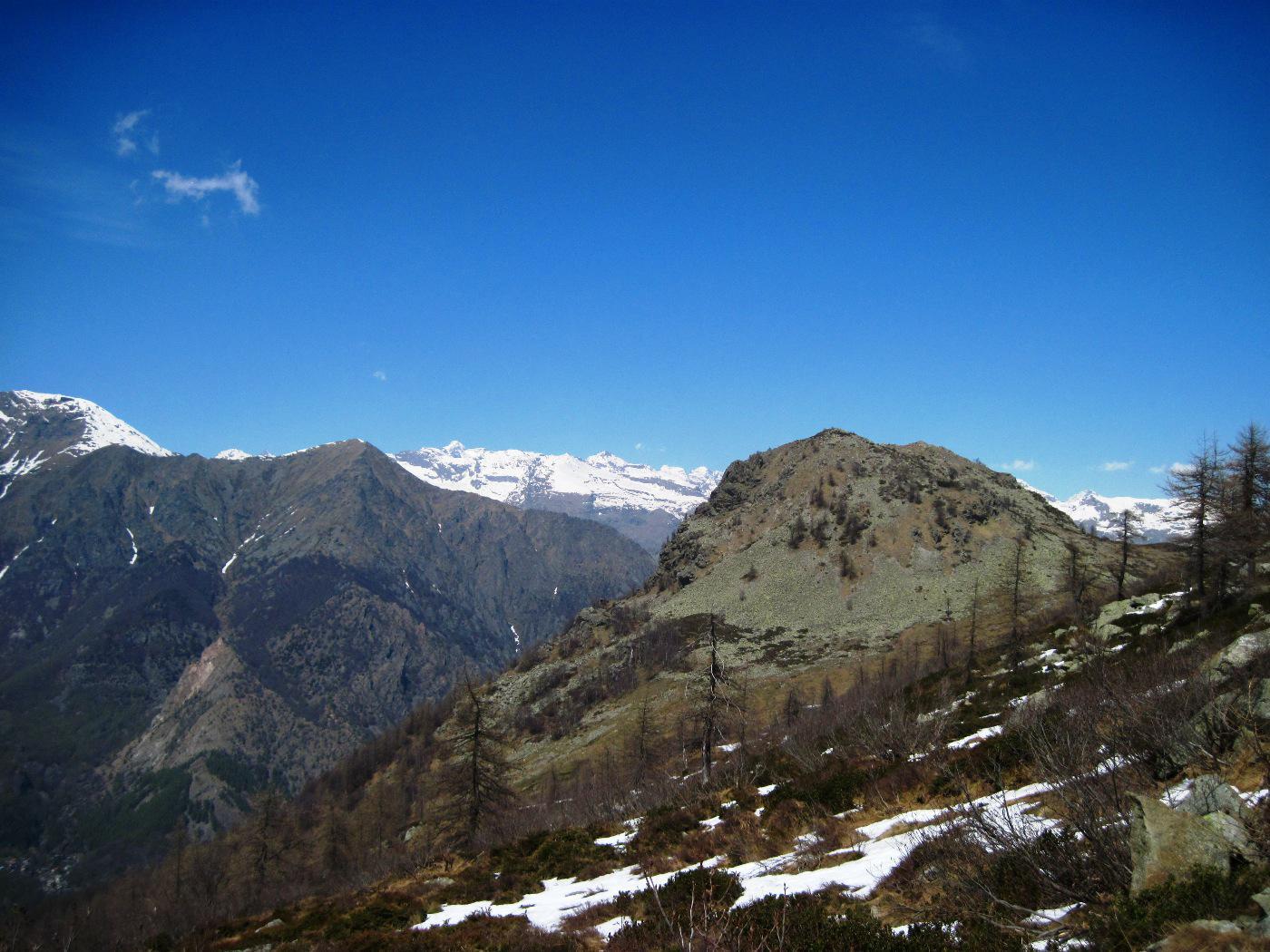 Testa Paian dall'Alpe del Conte