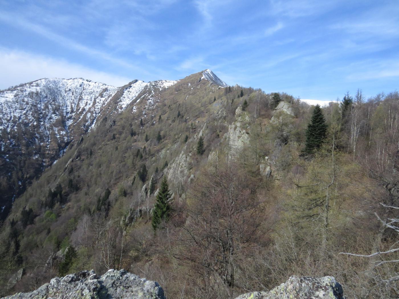 L'Uja d'Ingria, vista dal Monte Serena
