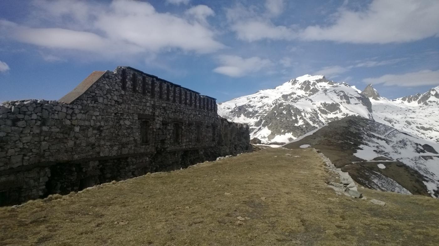 Dal forte Pernante vista su cima Salauta