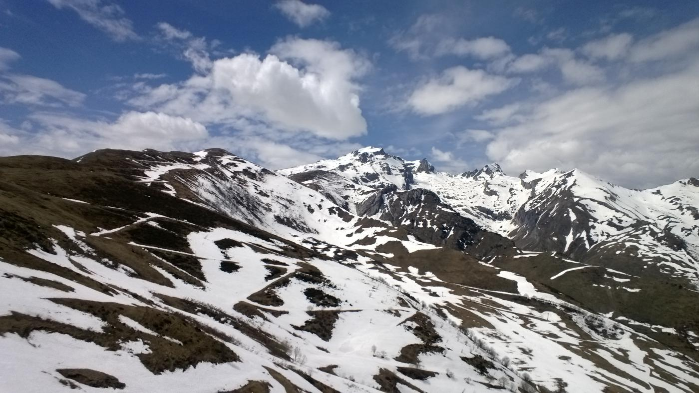 Panorama sulle condizioni generali in zona colle di Tenda
