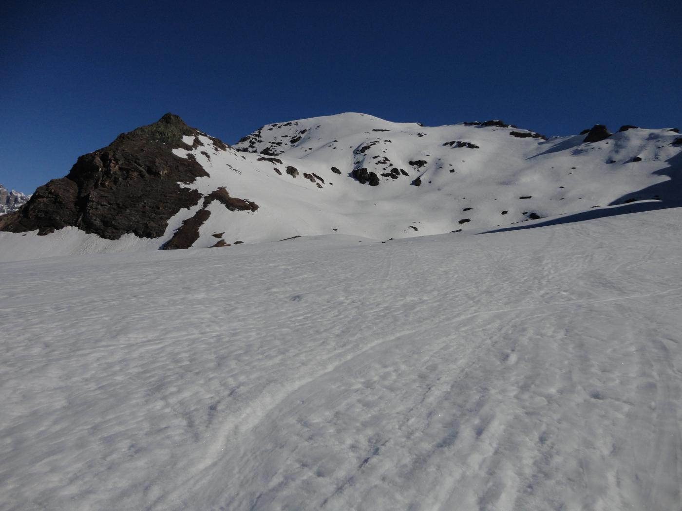 Roisetta (Mont, Punta Sud) da Cheneil 2015-04-24