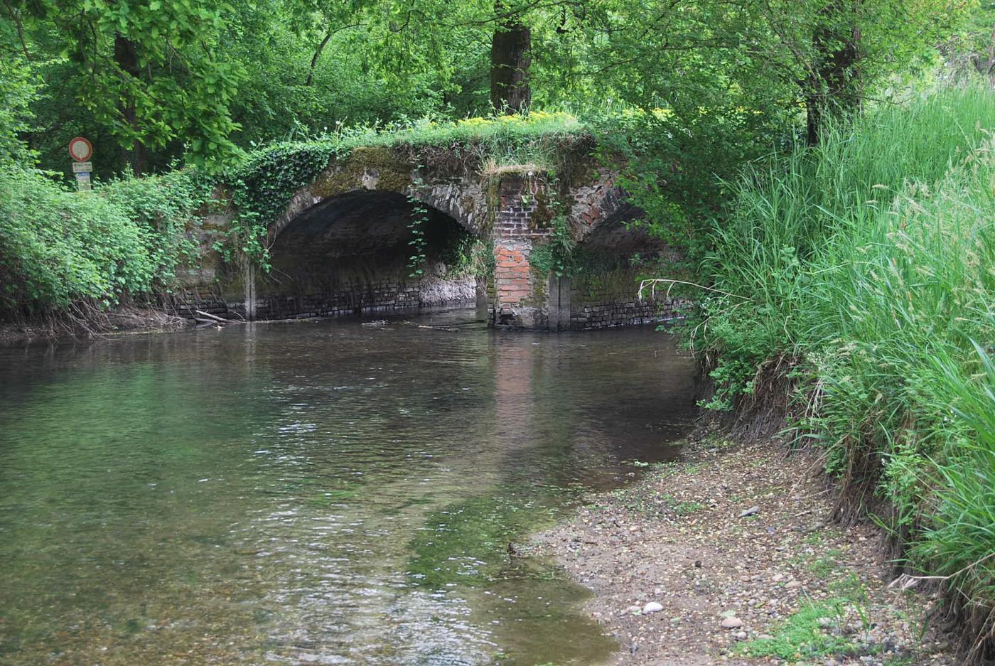 Ponte in pietra e Roggia Castellana
