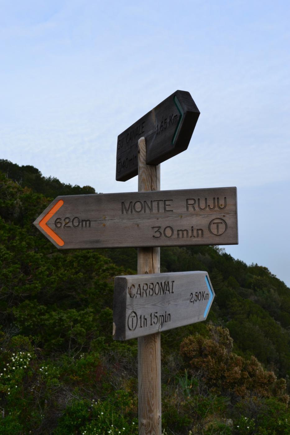 bivio Monte Ruju-Carbonai