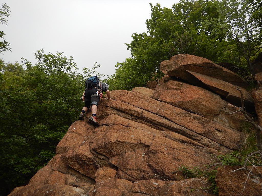 Inizio arrampicata