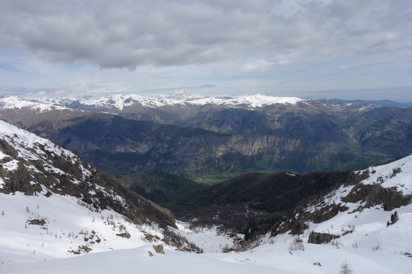 situazione neve in basso