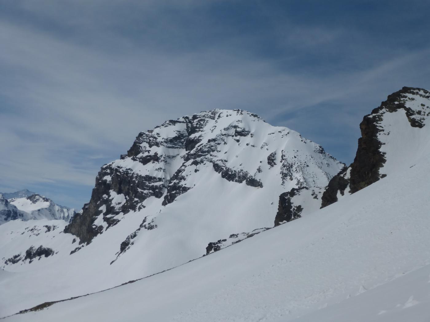 la Gran Becca du Mont vista dal colle della Becca du Lac...