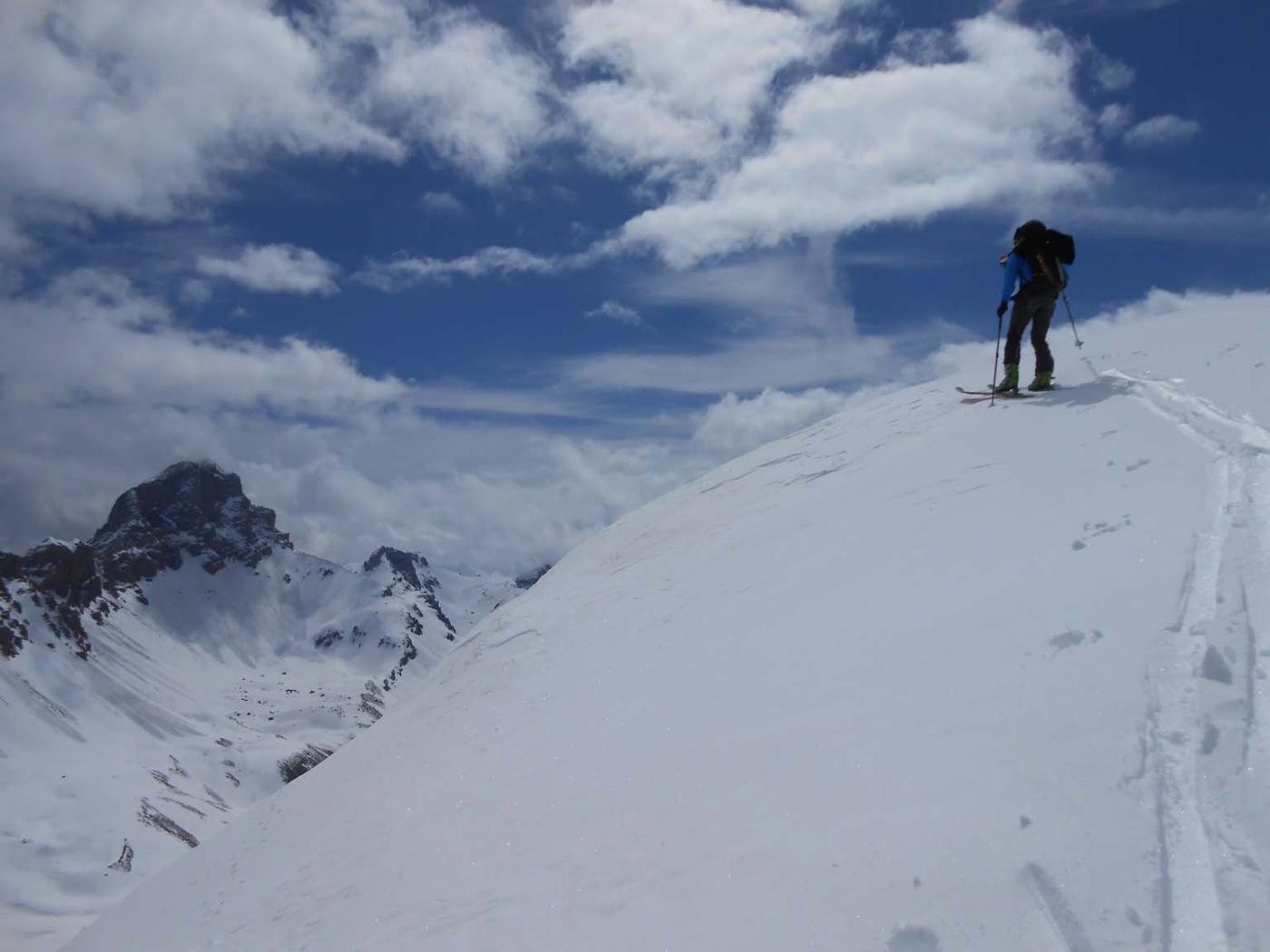 in cima al Rocher Peiron