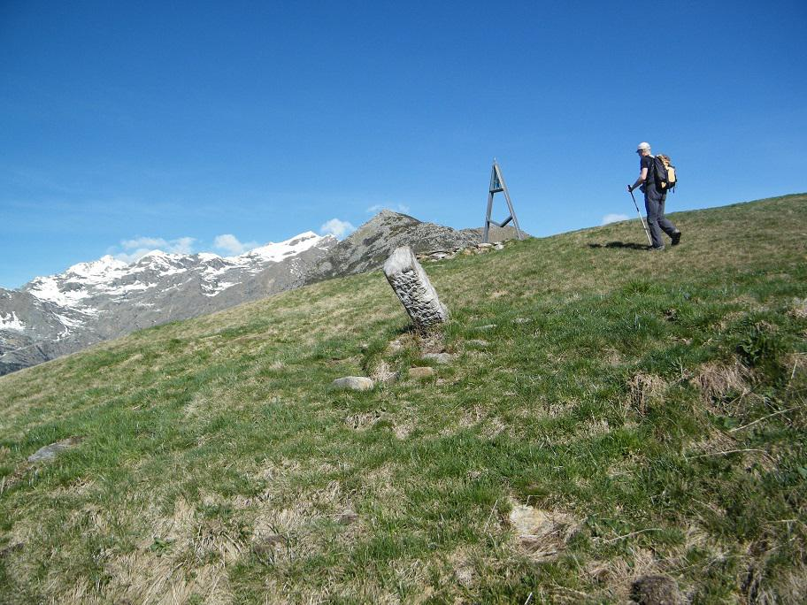 Arrivo sul Monte Cucco