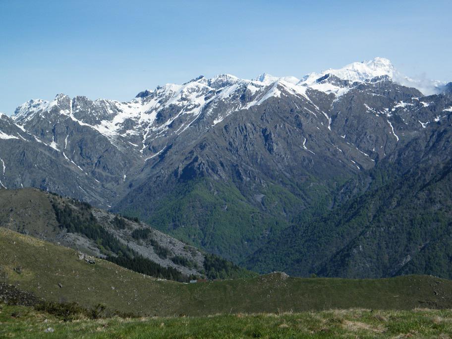 La Valle del Cervo ed il Monte Rosa