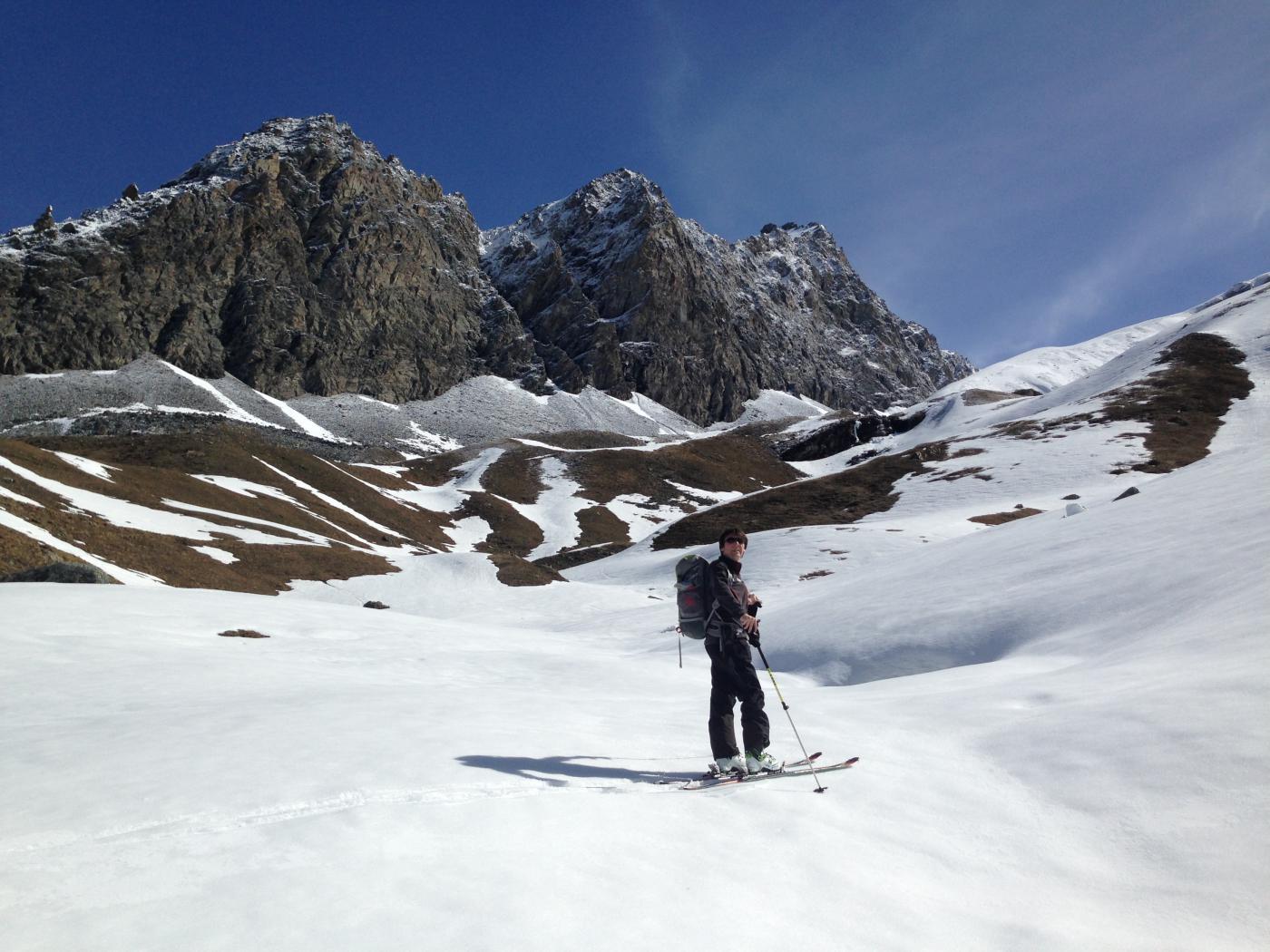 Presso l'Alpe Vaudaletta, quota 2400