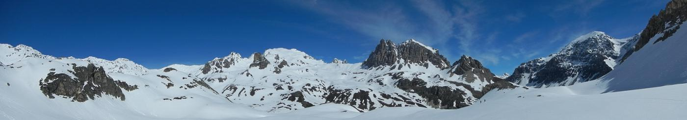 panorama sull'alta Valle Stretta