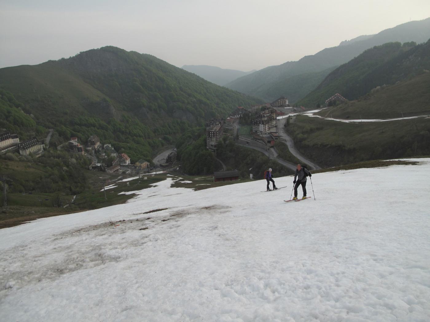 Neve continua 100m sopra Artesina