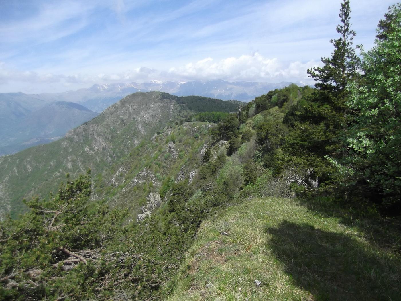 L'Arpette dalla Tete d'Alpe.