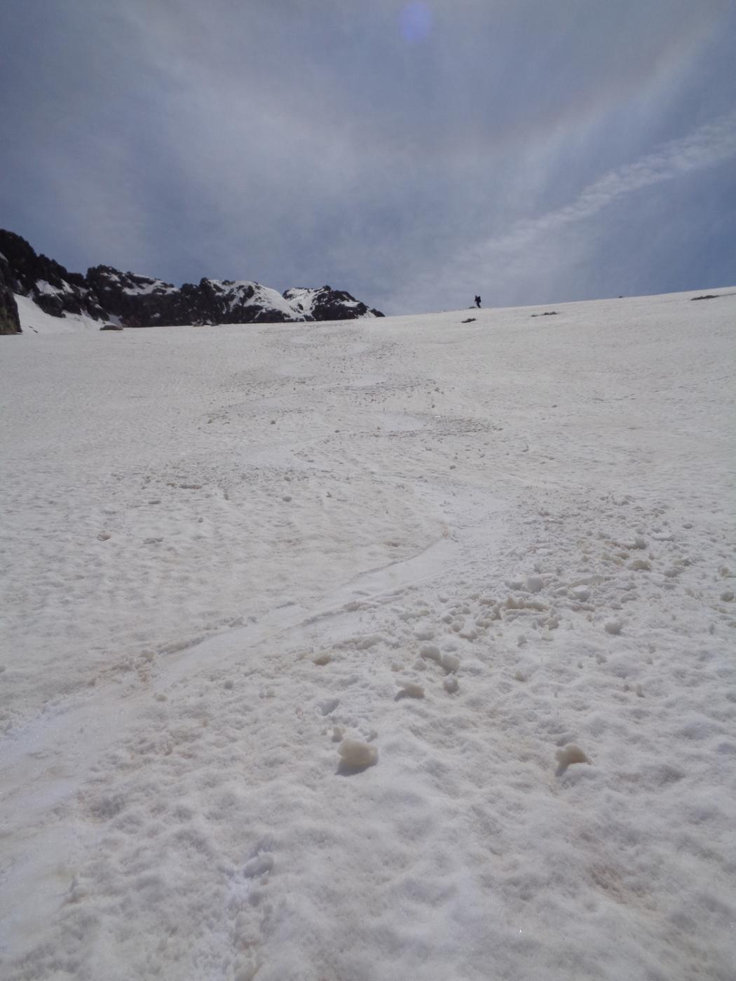neve ancora buona anche in basso
