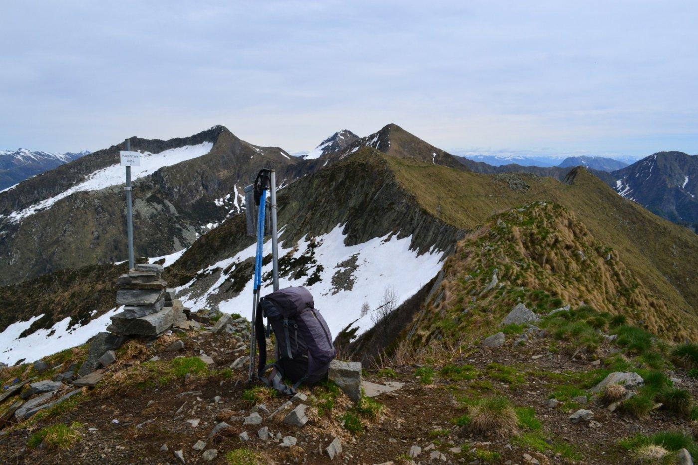 vetta della Punta Pozzolo (2081 m)