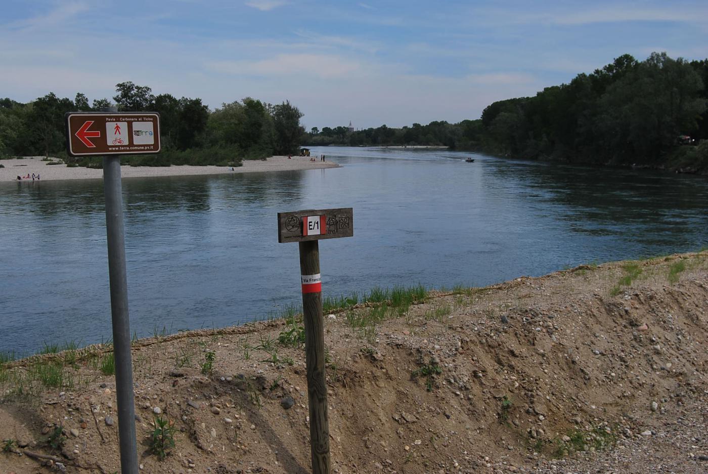 A 5.2 km dal traguardo: Pavia è sullo sfondo