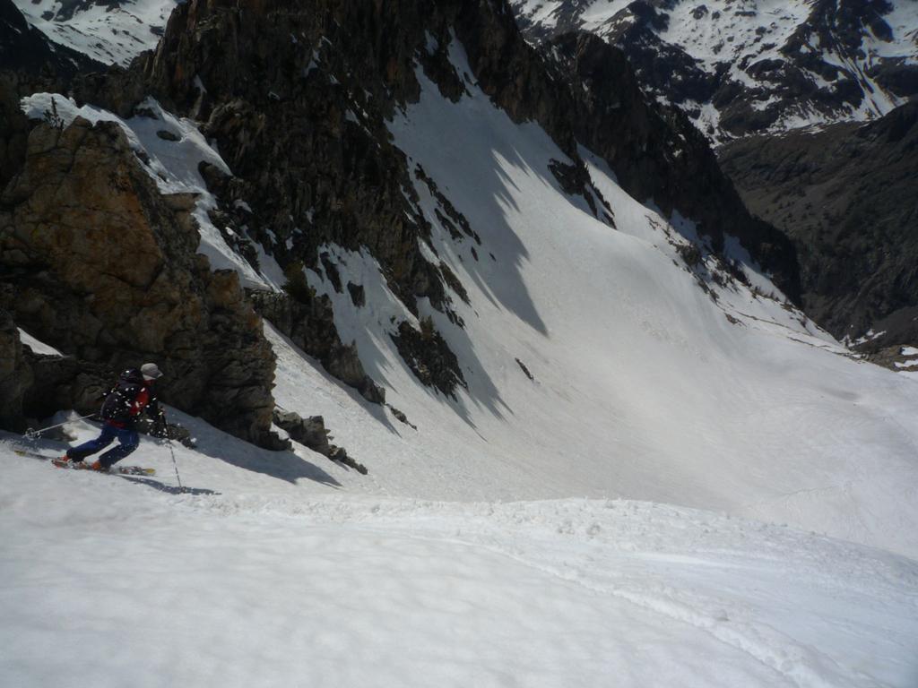 discesa nel vallone di Valcuca