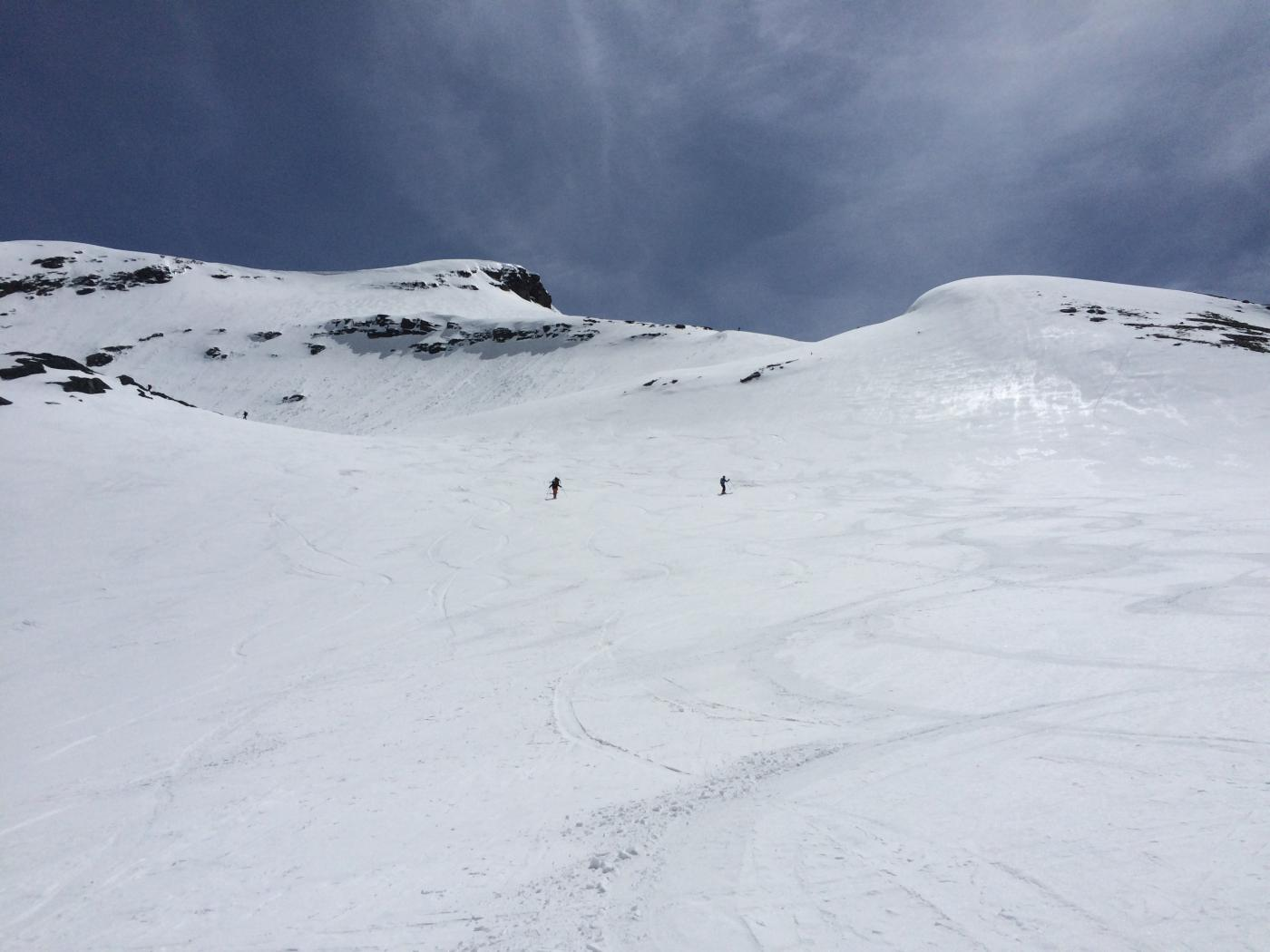 Condizioni perfette della neve