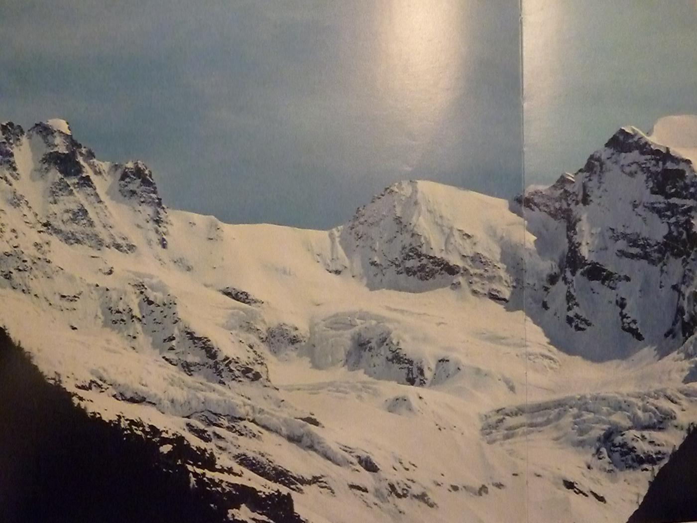 Versante Nord del Colle di Gran Croux 30 anni fa (libro di Bersezio e Tirone)