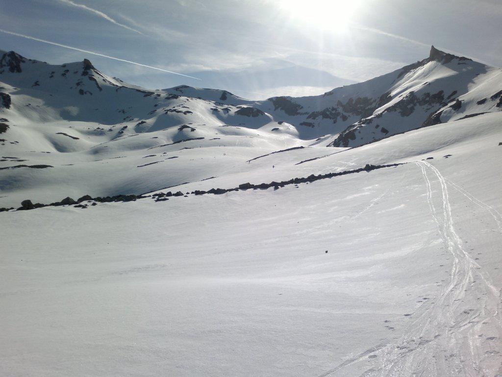 Sommeiller (Punta) da Rochemolles per il Passo dei Fourneaux Settentrionale 2015-05-10