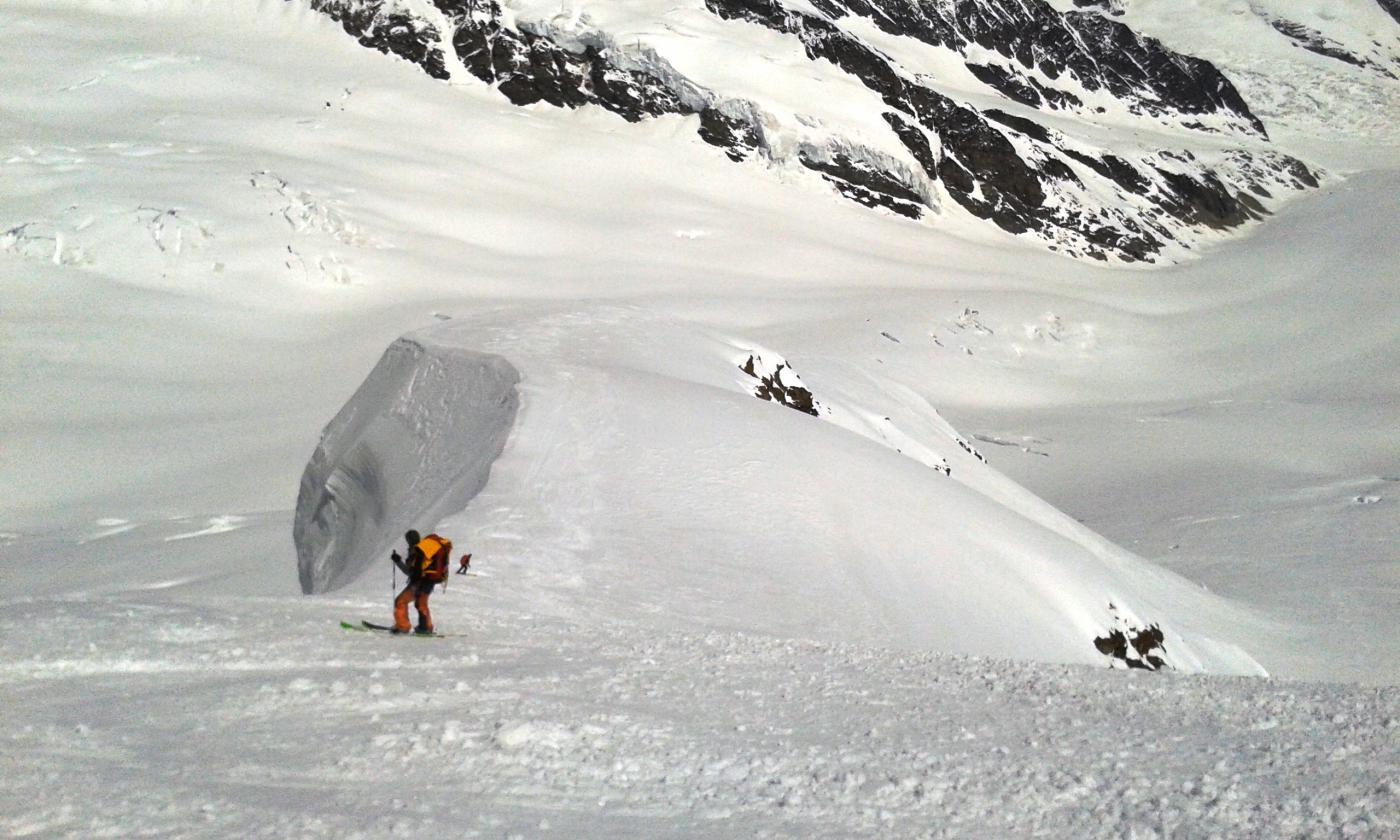 Discesa dalla Jungfrau