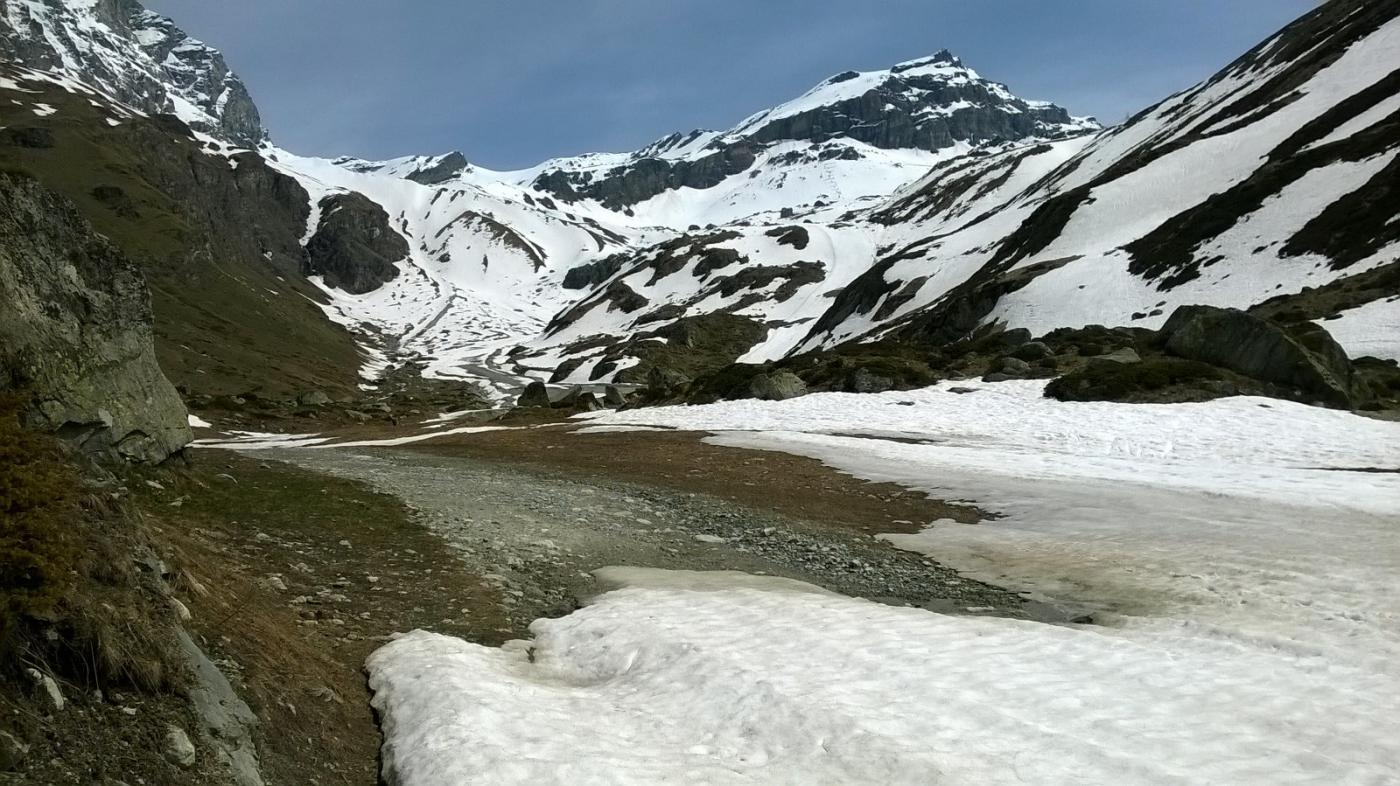 Fine neve e cima al fondo