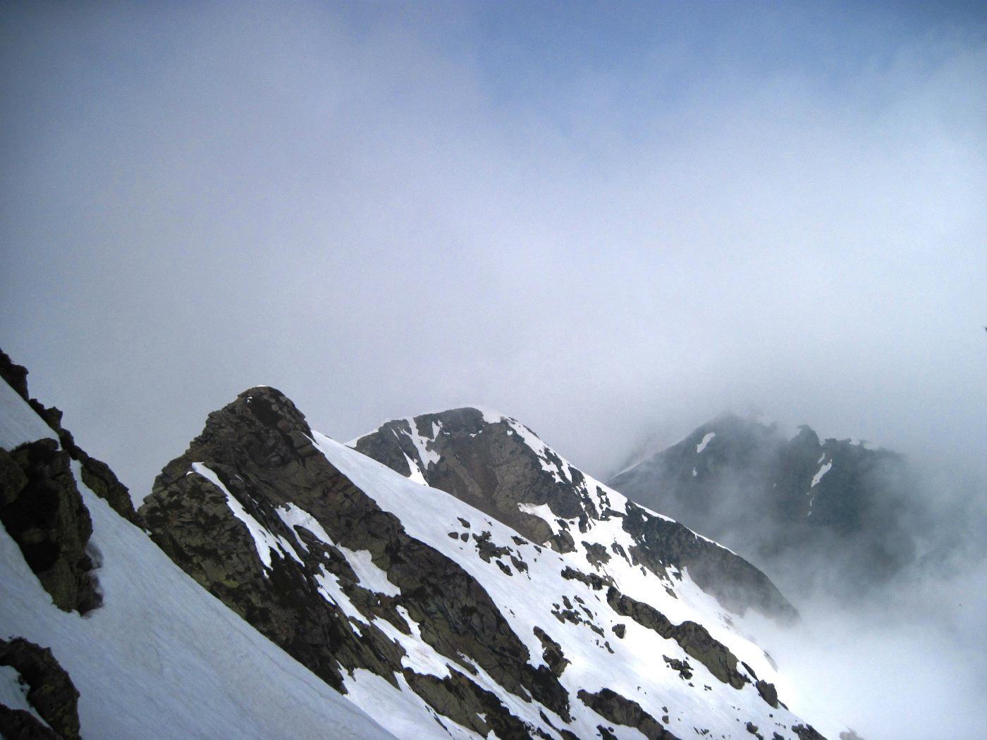Un breve squarcio nelle nuvole