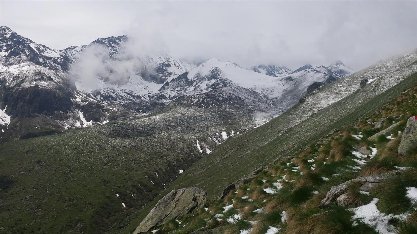 verso l'Alpe di Giaveno