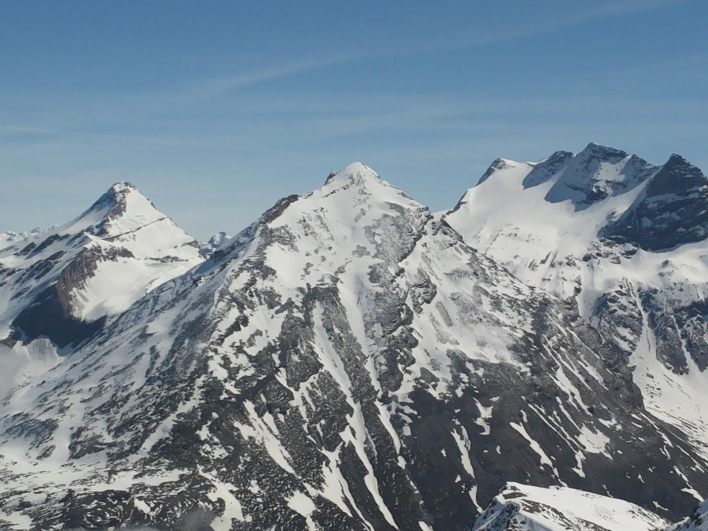 Hübschhorn e Breithorn Terra rossa Leone