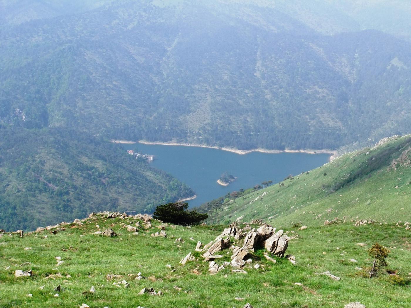 Lago Bruno dal Monte delle  Figne
