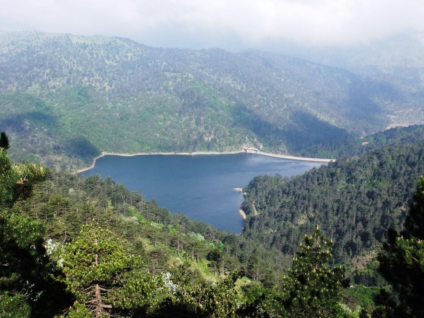 Bella vista sul Lago Lungo