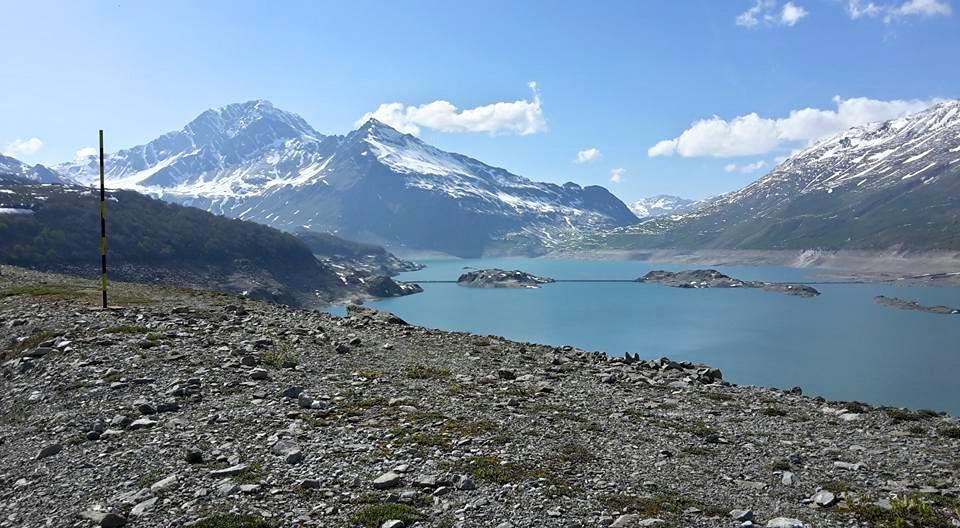 il bacino e il Mont Cenis