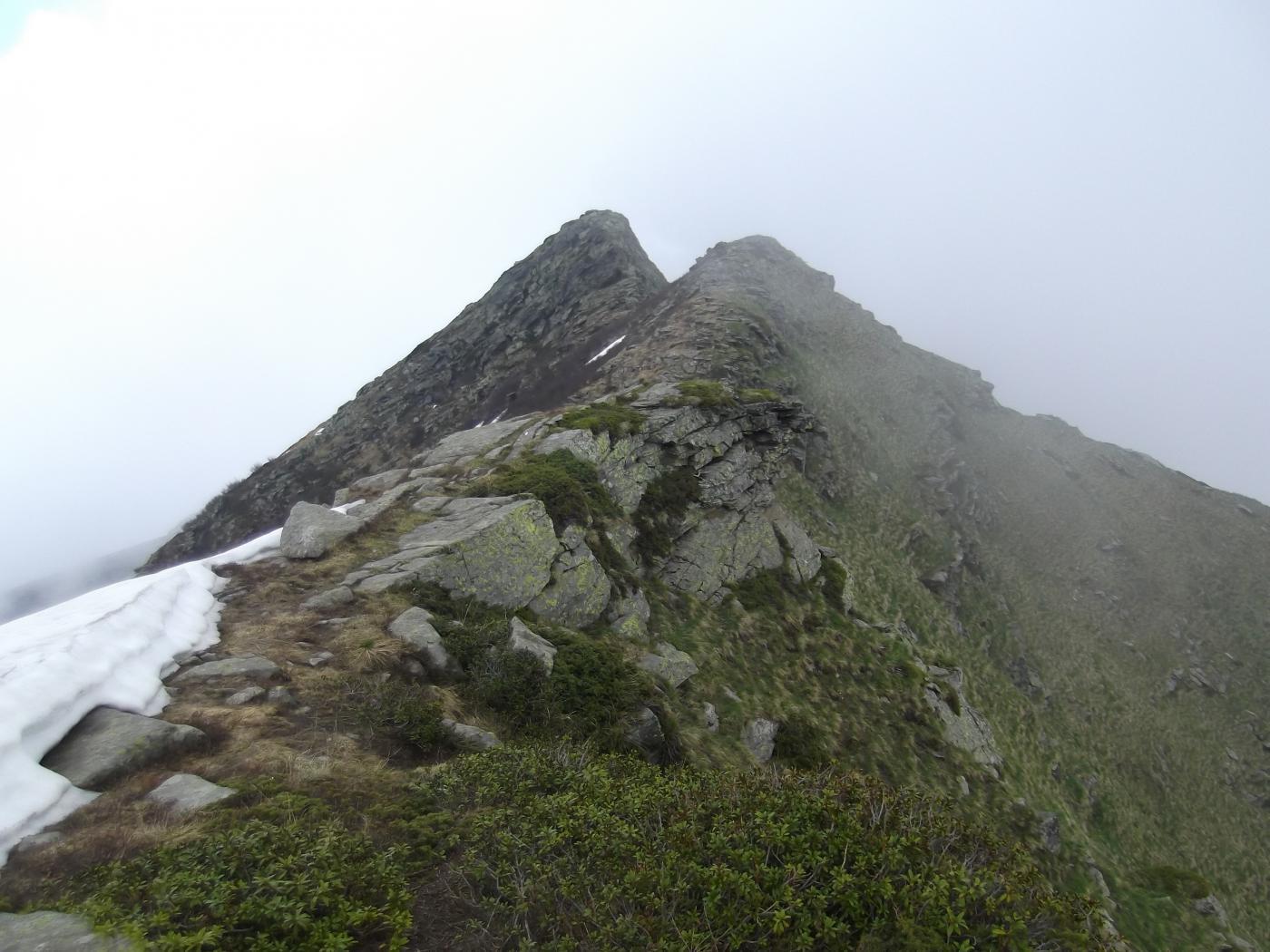 verso il Monte Vantacul